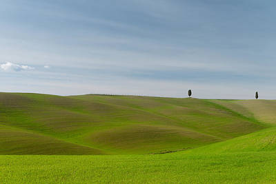 Val D'orcia, Toscana Poster