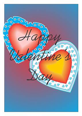 Valentine Lace Poster