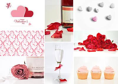 Valentine's Collage Poster