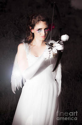 Valentines Day Cupid Poster by Jorgo Photography - Wall Art Gallery