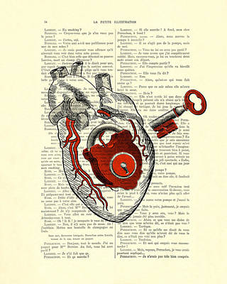 Valentine's Day Gift, Heart With Key Poster by Madame Memento