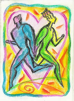 Valentines Day Poster by Leon Zernitsky