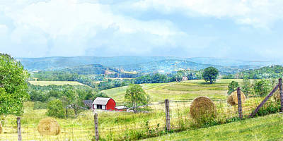 Valley Farm Poster