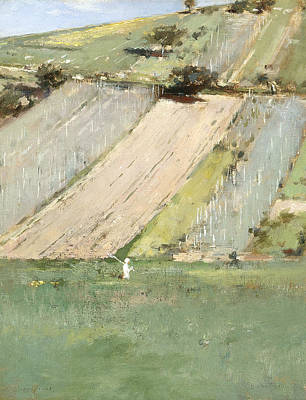 Valley Of The Seine, Giverny Poster by Theodore Robinson