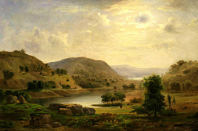 Valley Pasture Poster by Robert Seldon Duncanson