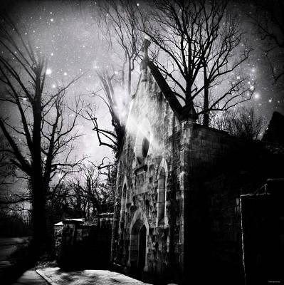 Vampiric Tendencies Poster by Brenda Conrad