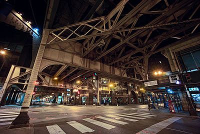 Van Buren Street - South Loop - Chicago Poster