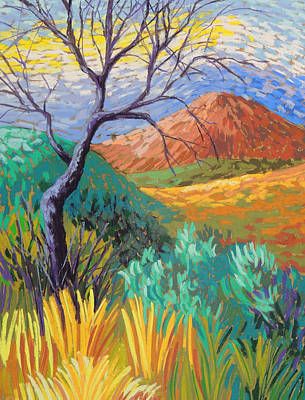 Van Gogh In Thefranklins Poster