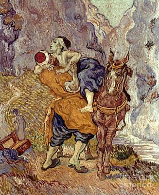 Van Gogh: Samaritan, 1890 Poster by Granger
