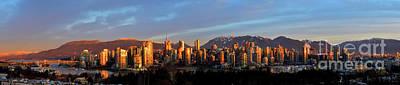 Vancouver Bc False Creek Sunrise 2 Poster