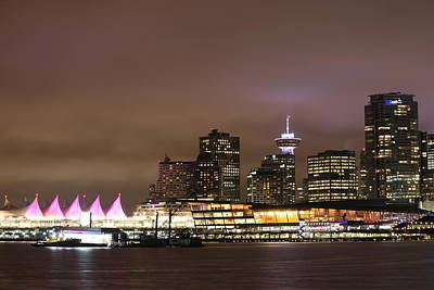 Vancouver Canada Place Poster