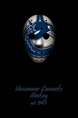 Vancouver Canucks Established Poster by Joe Hamilton