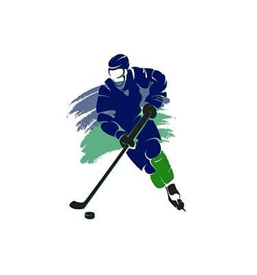 Vancouver Canucks Player Shirt Poster by Joe Hamilton
