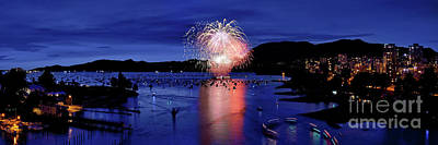 Vancouver Celebration Of Light Fireworks 2015 - Canada Poster