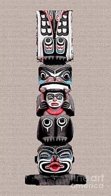 Vancouver Totem - 5 Poster