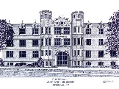 Vanderbilt-furman Hall Poster