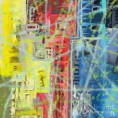 Vapor Trails Poster by Jeremy Aiyadurai