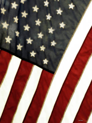 Variations On Old Glory No.4 Poster
