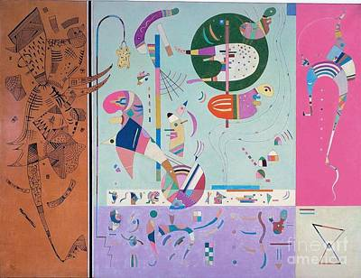 Various Parts Poster by Kandinsky