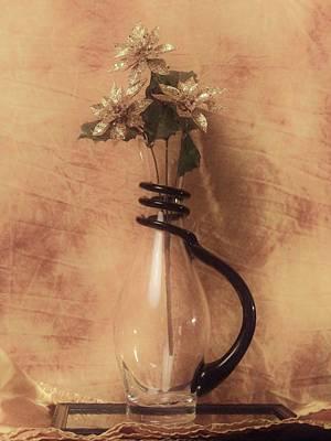 Vase Of Gold Poster