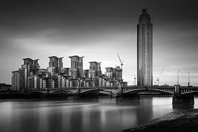 Vauxhall Bridge, London Poster