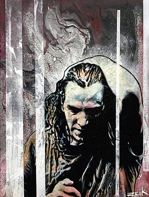 Vedder - Black Poster