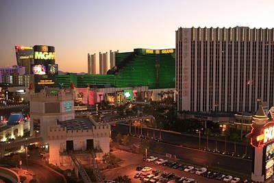 Vegas Dawn Poster
