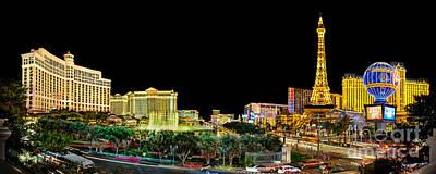 Vegas Splendor  Poster by Az Jackson