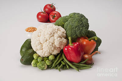 Vegetables Poster by George Mattei