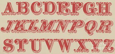 Velvet Letter  Poster by English School
