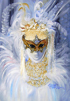 Venetian Beauty Poster