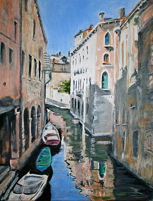 Venetian Blue Poster by Jami Burns