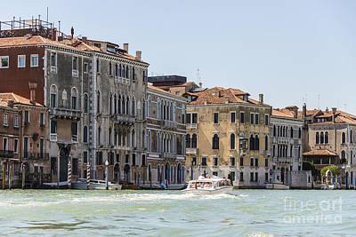 Venetian Buildings  Poster by Svetlana Sewell