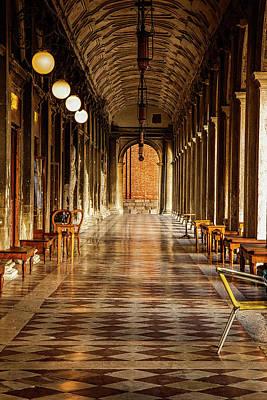 Venetian Corridor Poster by Andrew Soundarajan