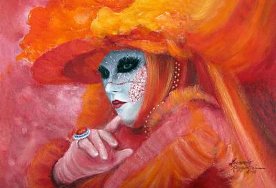 Venetian Flame Poster