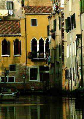 Venetian Gold Poster by Donna Corless