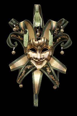 Venetian Mask Poster by Fabrizio Troiani