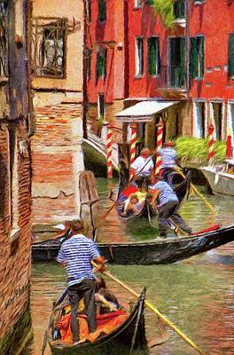 Venetian Red Poster by Jeff Kolker