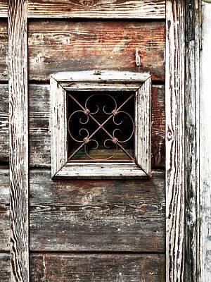 Venetian Window Poster