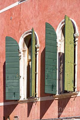 Venetian Windows Poster by Heiko Koehrer-Wagner