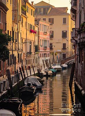 Venetian Yellow  Poster by Amy Sorvillo