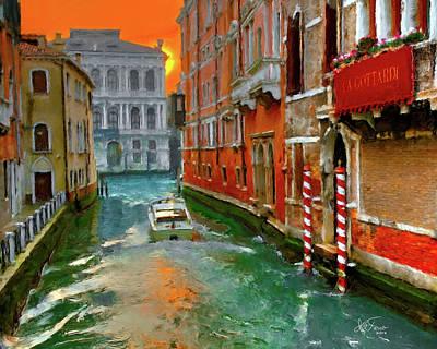 Venezia. Ca'gottardi Poster