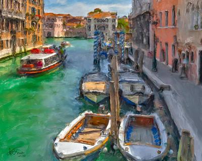 Venezia. Cannaregio Poster by Juan Carlos Ferro Duque