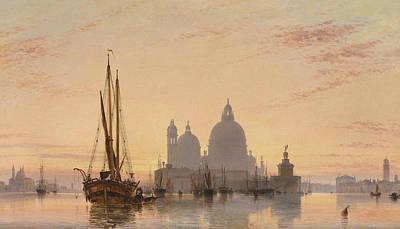 Venice, 1851 Poster
