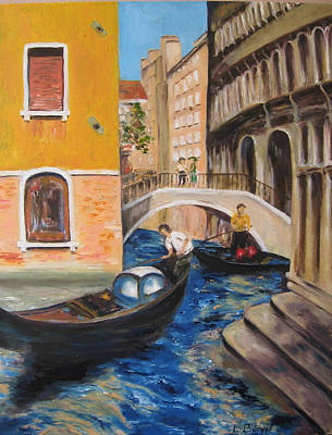 Venice Afternoon Poster