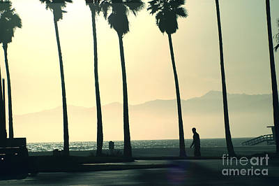 Venice Beach California Poster by Micah May