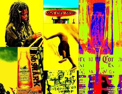 Venice Beach Scenes Poster