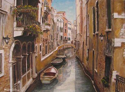 Venice-canale Veneziano Poster