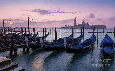 Poster featuring the photograph Venice Dawn II by Brian Jannsen