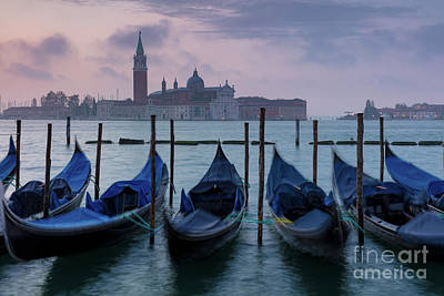 Poster featuring the photograph Venice Dawn IIi by Brian Jannsen